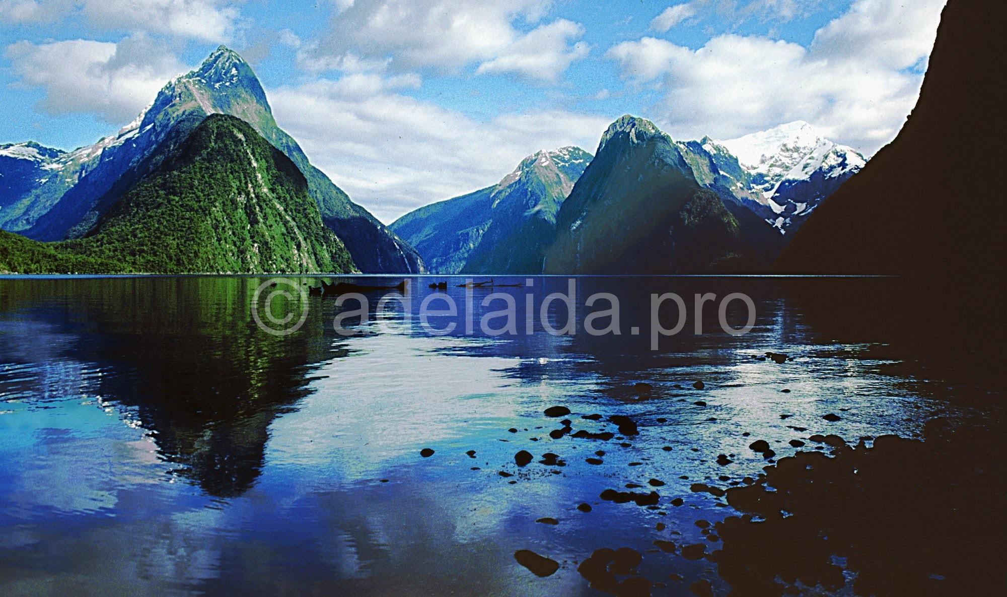 Фьорд Милфорд-Саунд - один из символов Новой Зеландии