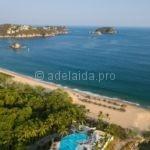Путешествие по Мексике Сиполите - нудистский пляж