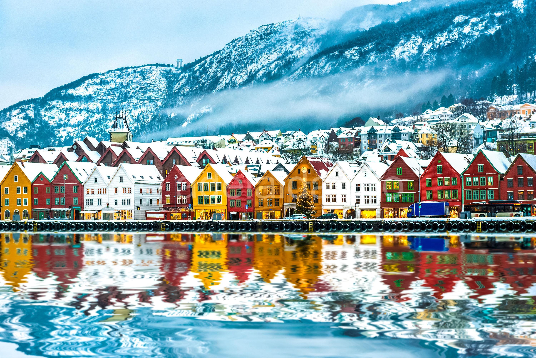 Отдых на родине викингов - удивительная Норвегия.