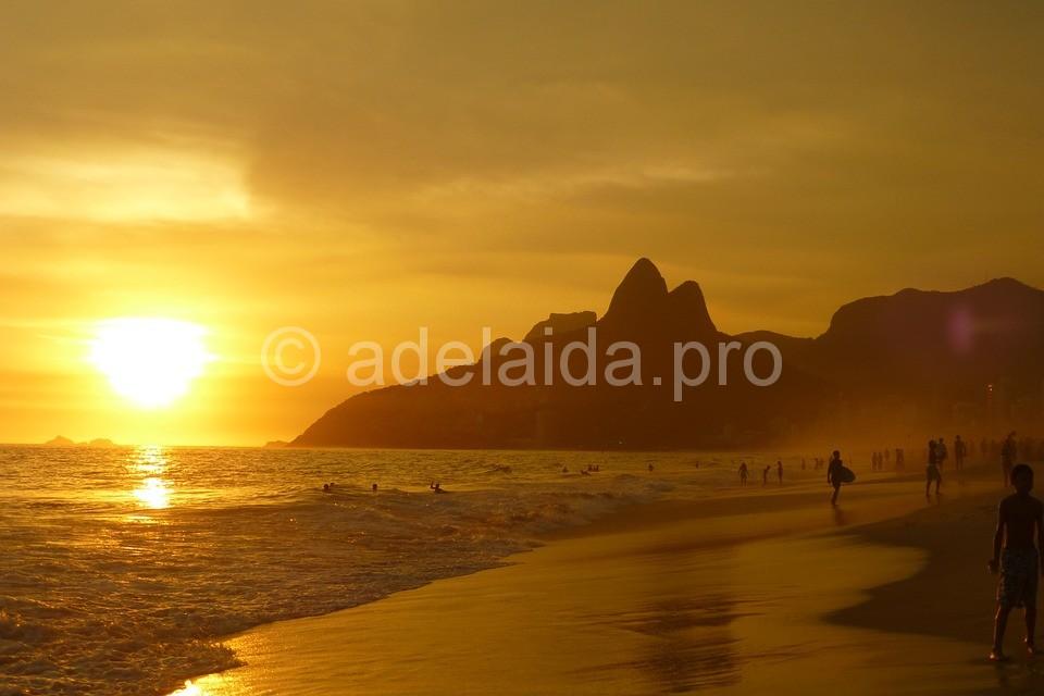 Пляжи в Бразилии песчаные, очень комфортные для отдыха