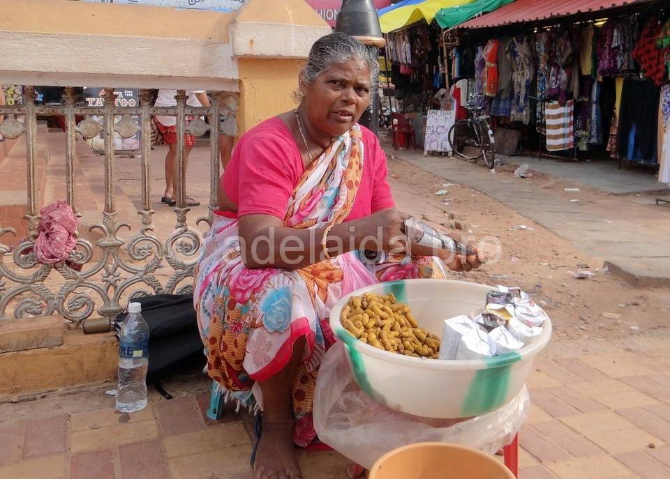 Кухня на побережье Гоа, Индия