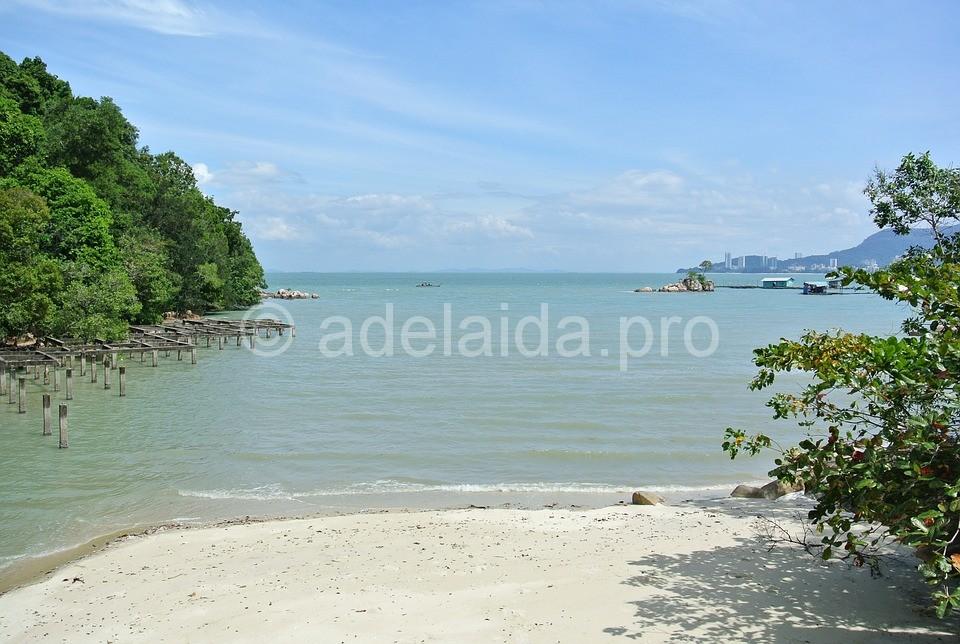Если вы пожелаете посетить курортный остров Пенанг, вы проедете по мосту длиной 13,5 километра