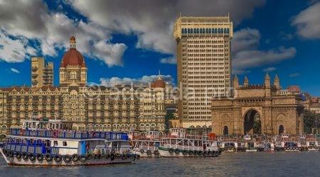 Мумбай - портовый город Индии