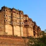 Форт Мехрангарх в Индии