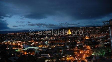 Ночная жизнь Тбилиси