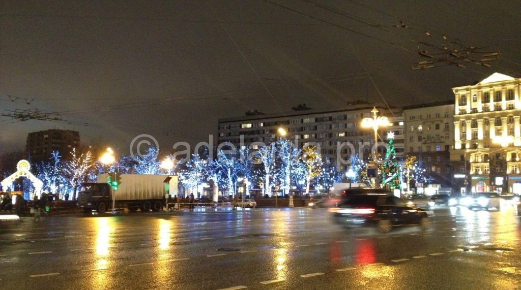 Пешеходные экскурсии по Москве сложно представить без Тверской улицы