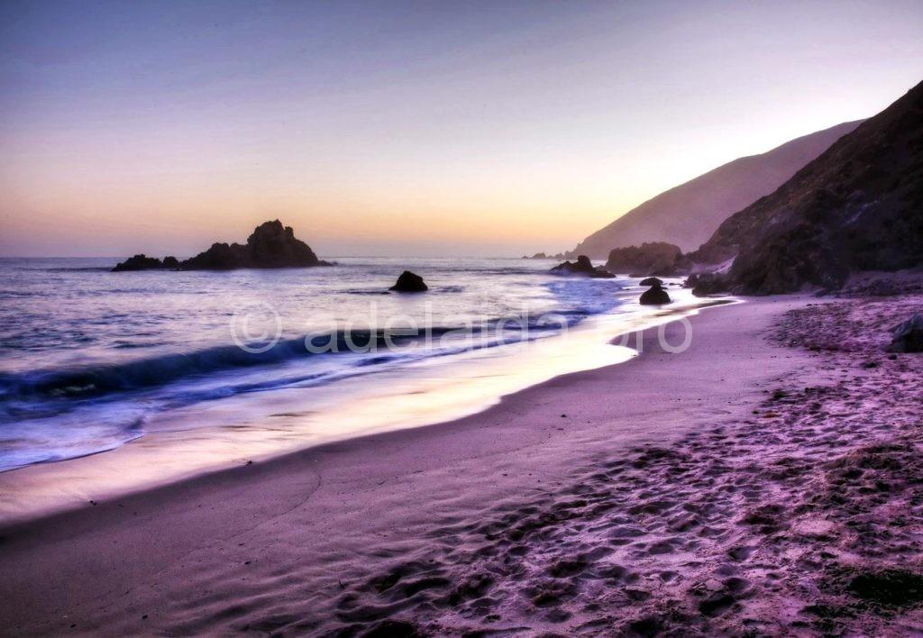 Пфайффер пляж, Калифорния