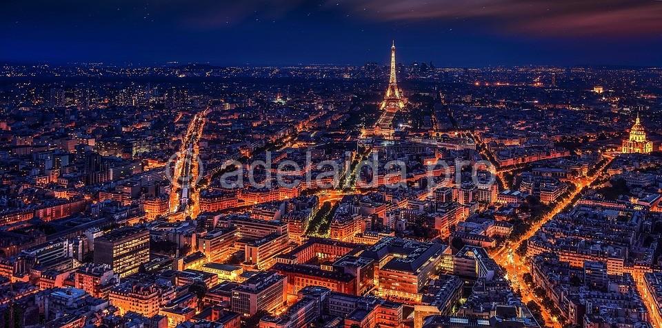 Заключительным пунктом в описанном маршруте является Париж, город романтики и красоты