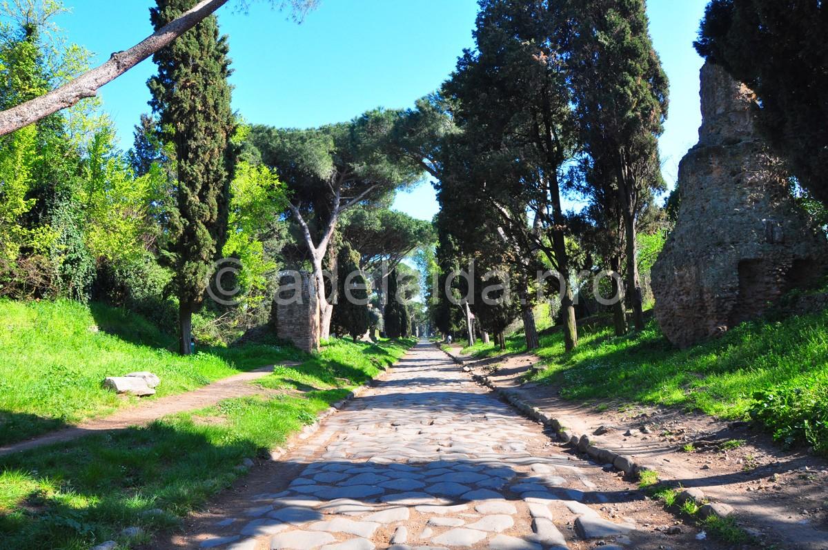 Апиева дорога в Риме
