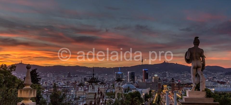 Город Барселона всегда и везде был на слуху