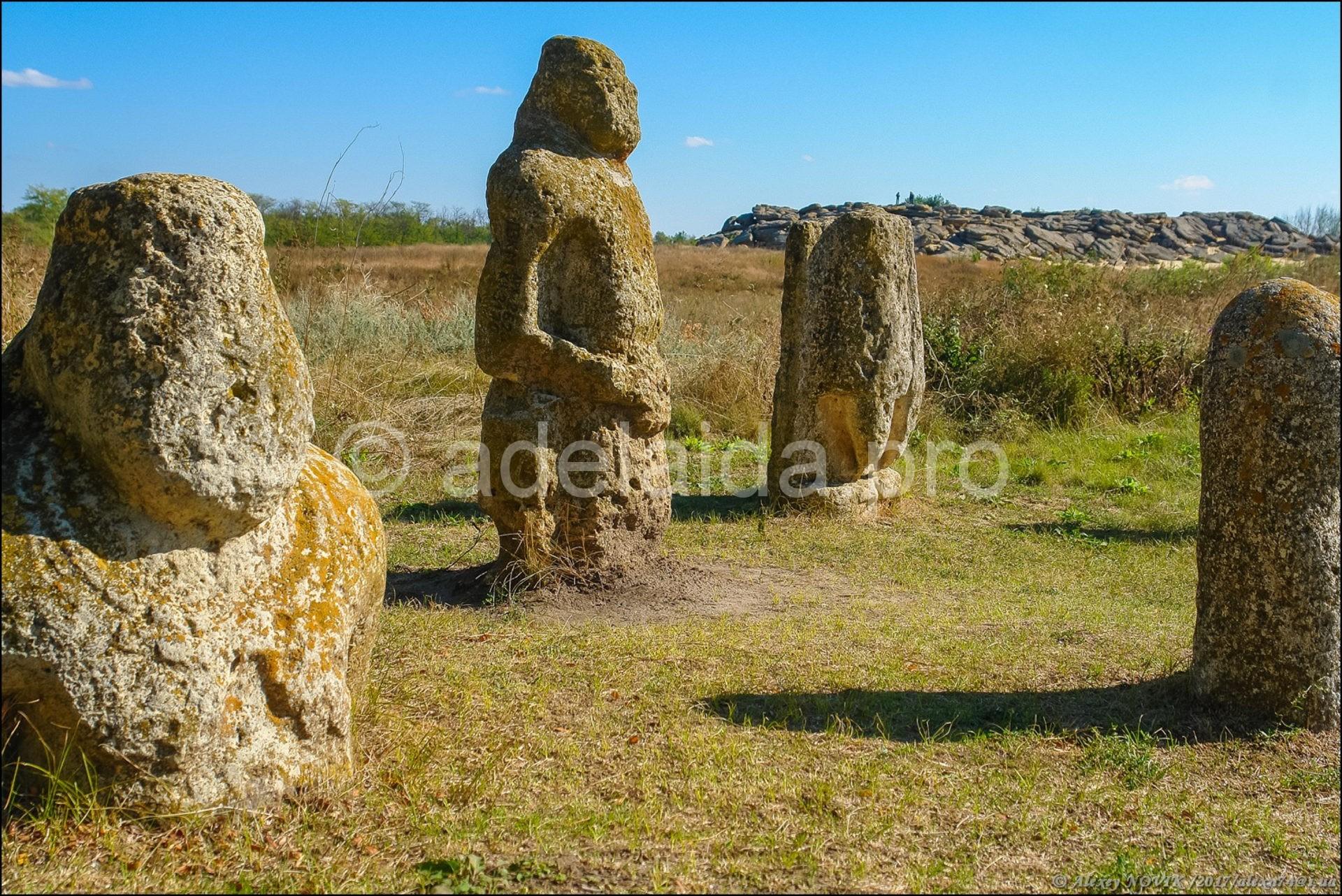 Каменная могила, украинский аналог Стоунхенджа