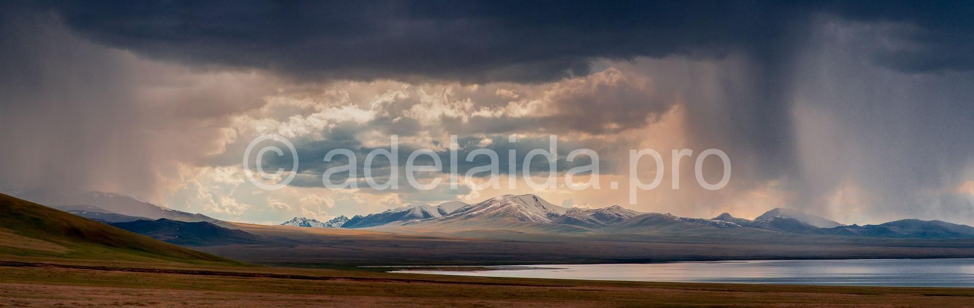 Кочевая жизнь Киргизии. Озеро Сон-Куль