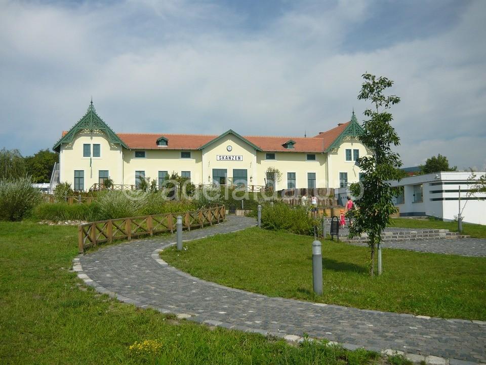 Этнографический музей строили шесть лет и открыт он был в 1918 году.
