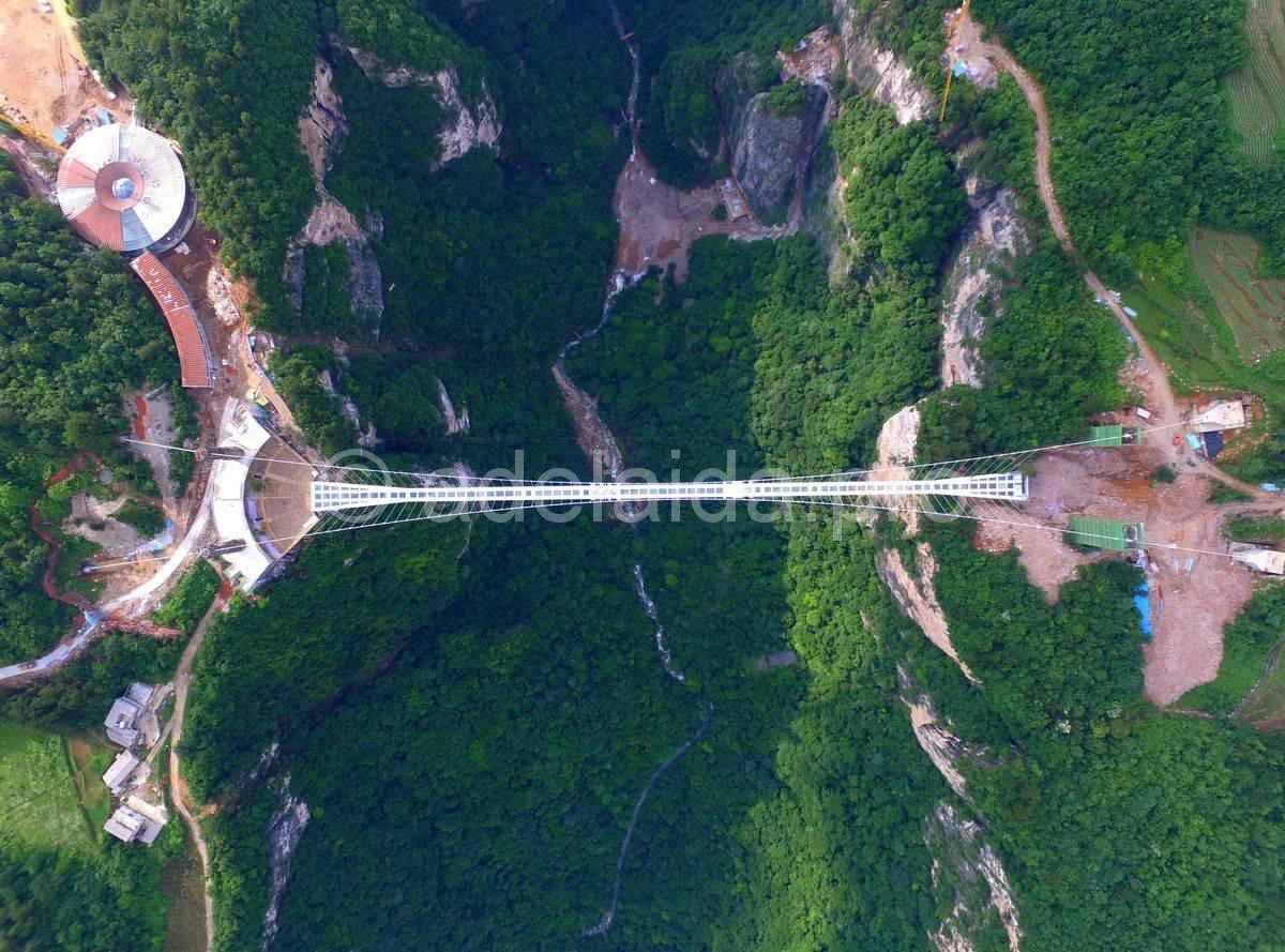 Стеклянный мост Пиньянь. Мост героев или тропа ужасов