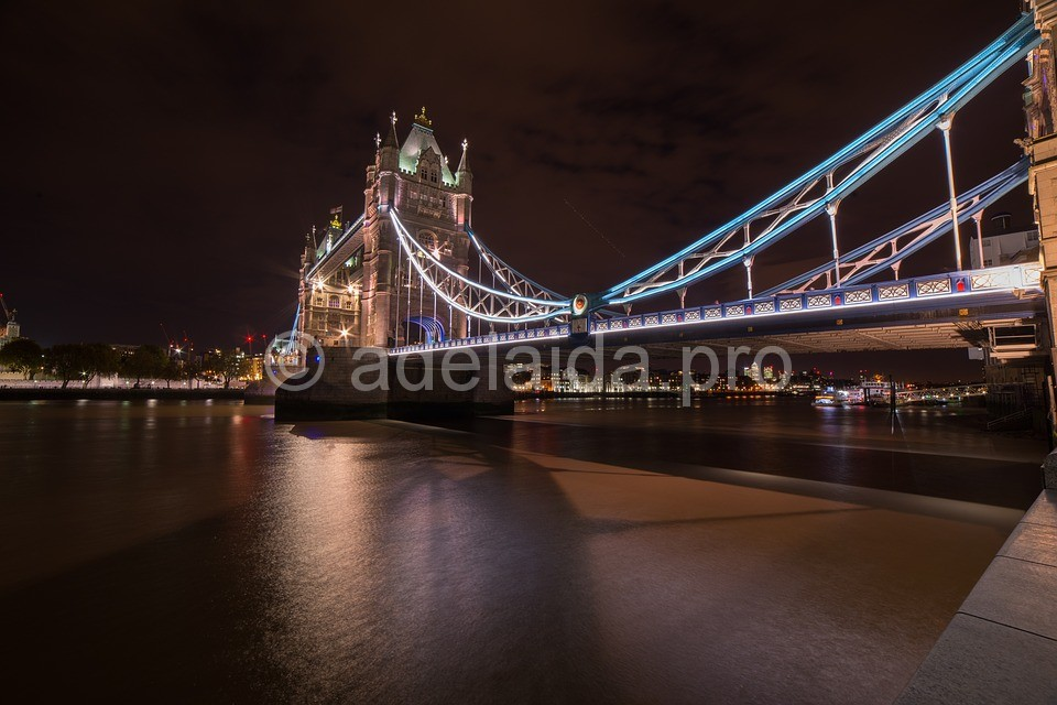 Тауэр Бридж или мост через Темзу