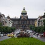 Вацлавская площадь в Чехии