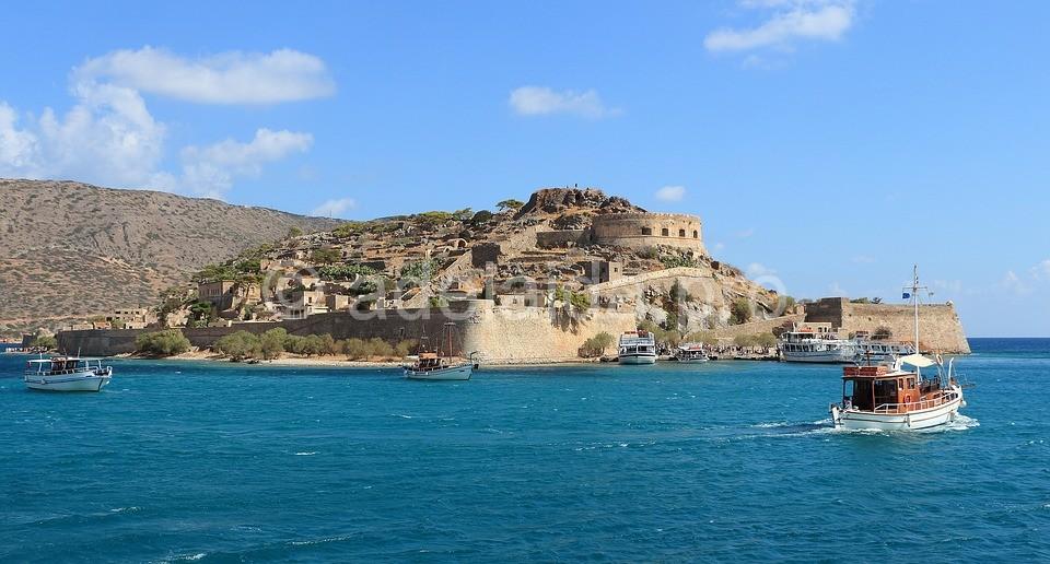 Крепость – остров Спиналонга