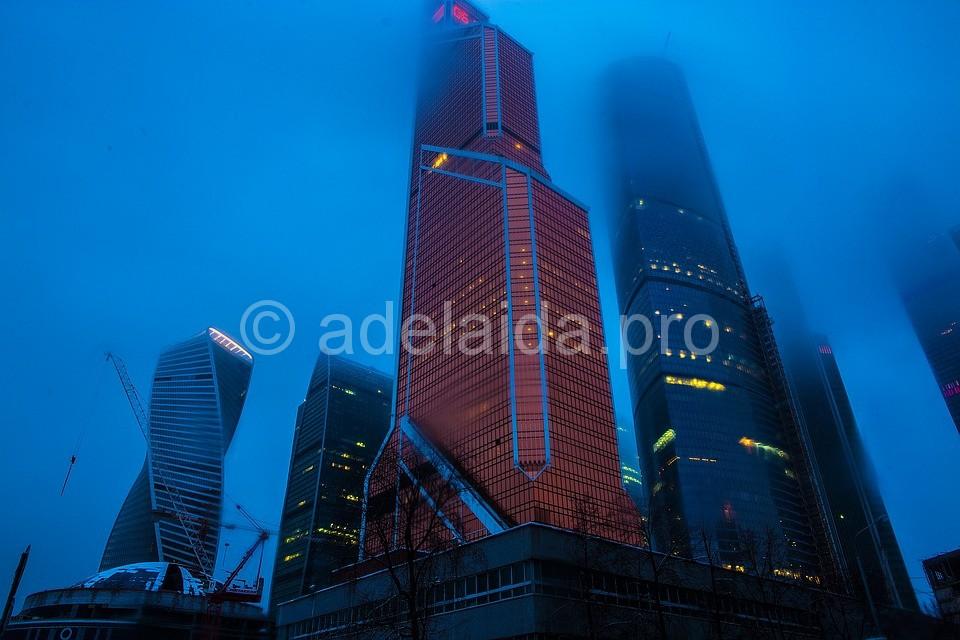 Москва-Сити вся Москва как на ладони