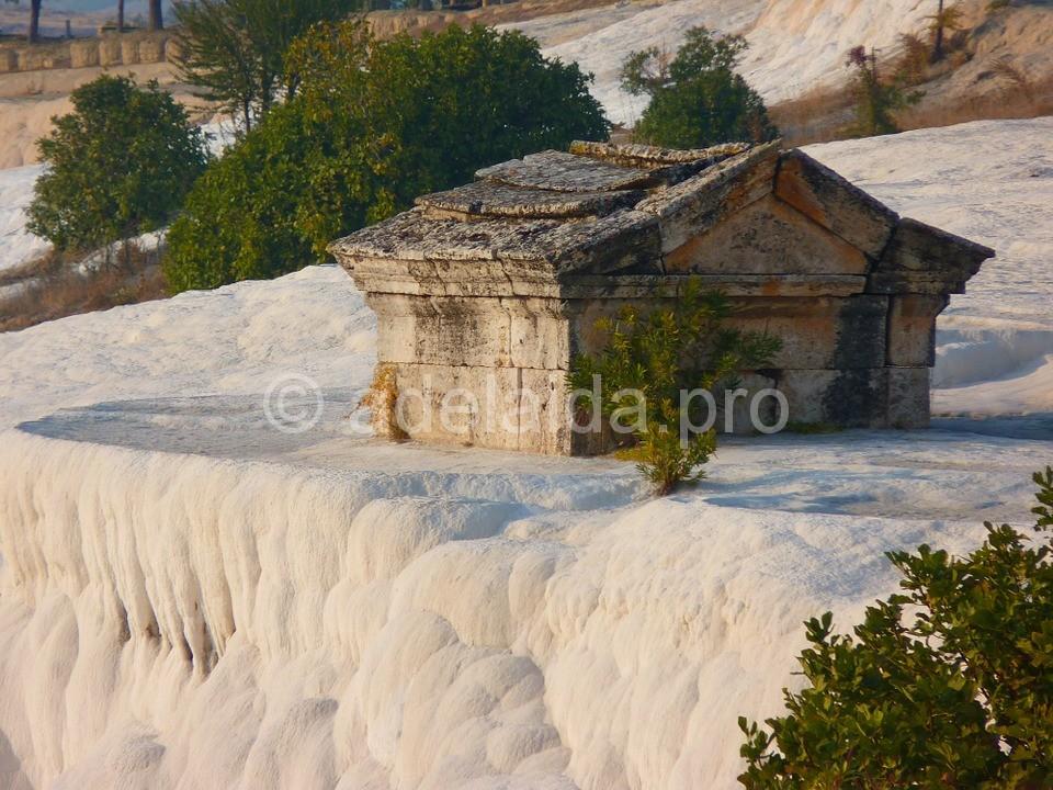 Памуккале - историческая изюминка Турции