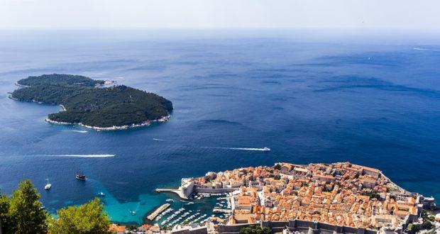 Дубровник - красивейший город в Хорватии