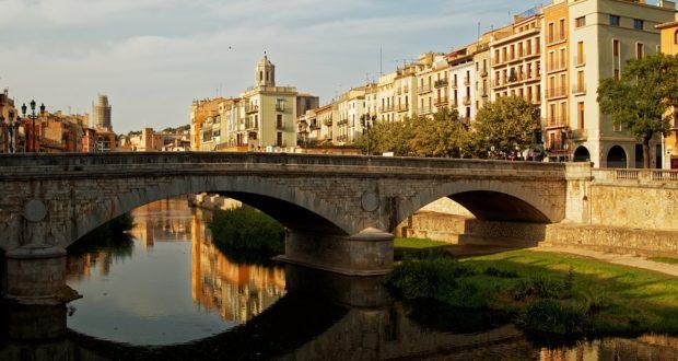 Старый город Жирона в Каталонии