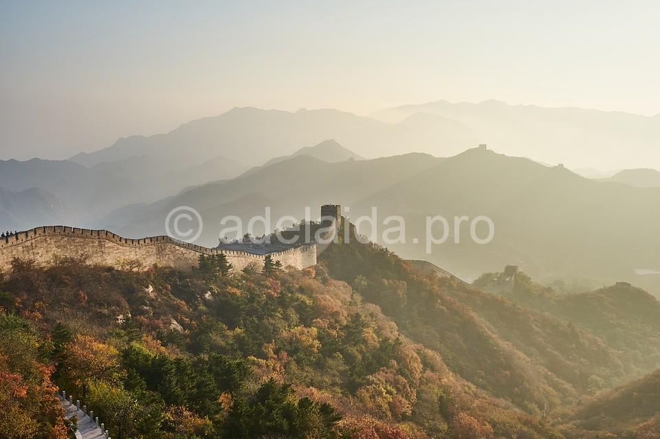 Великая Китайская стена - памятник величия доисторических времён