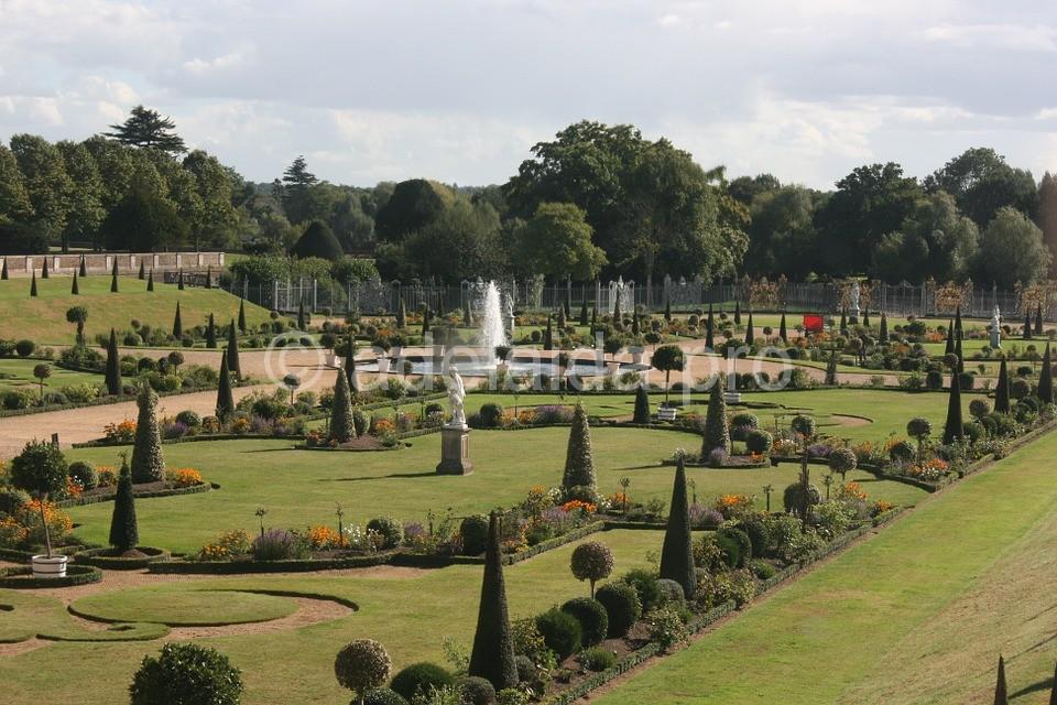 сады Хэмптон-корт