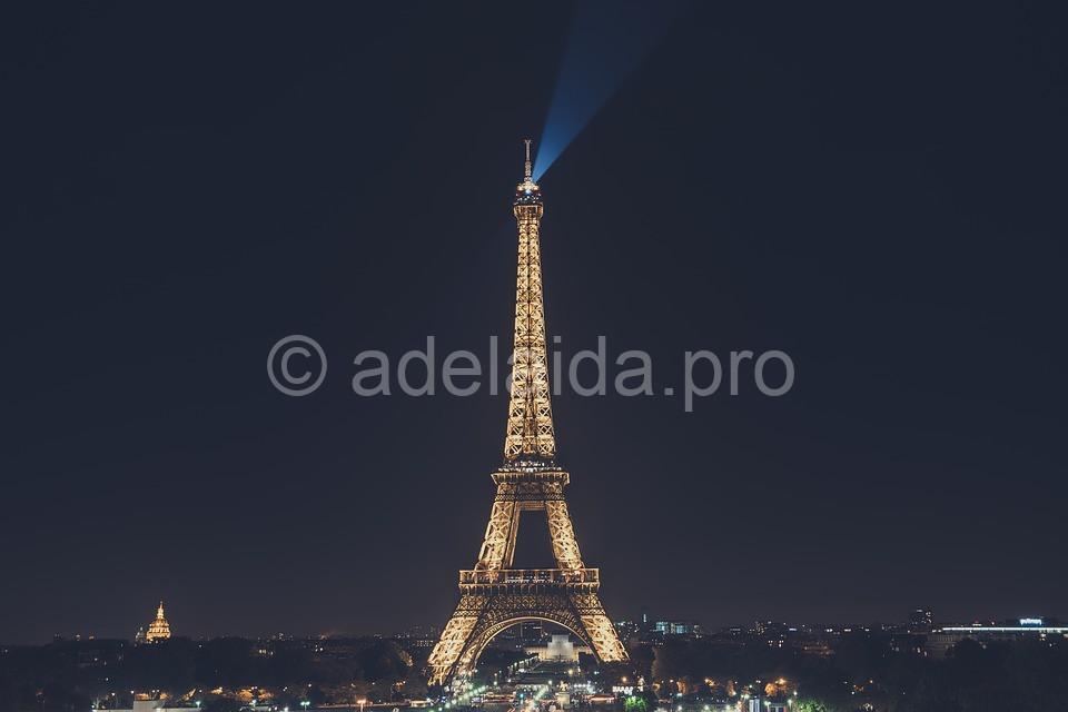 Обзор Эйфелевой башни